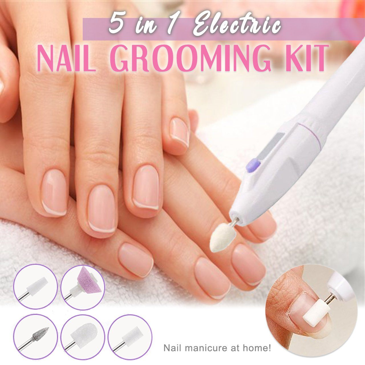 5-in-1 Electric Nail Grooming Kit