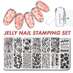 Jelly Nail Stamping Set