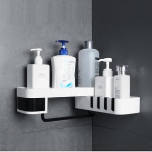 Wall Mounted Rotating Shower & Bathroom Rack