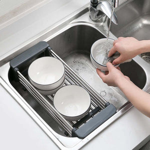 Universal Sink Basket for Dishes and Food