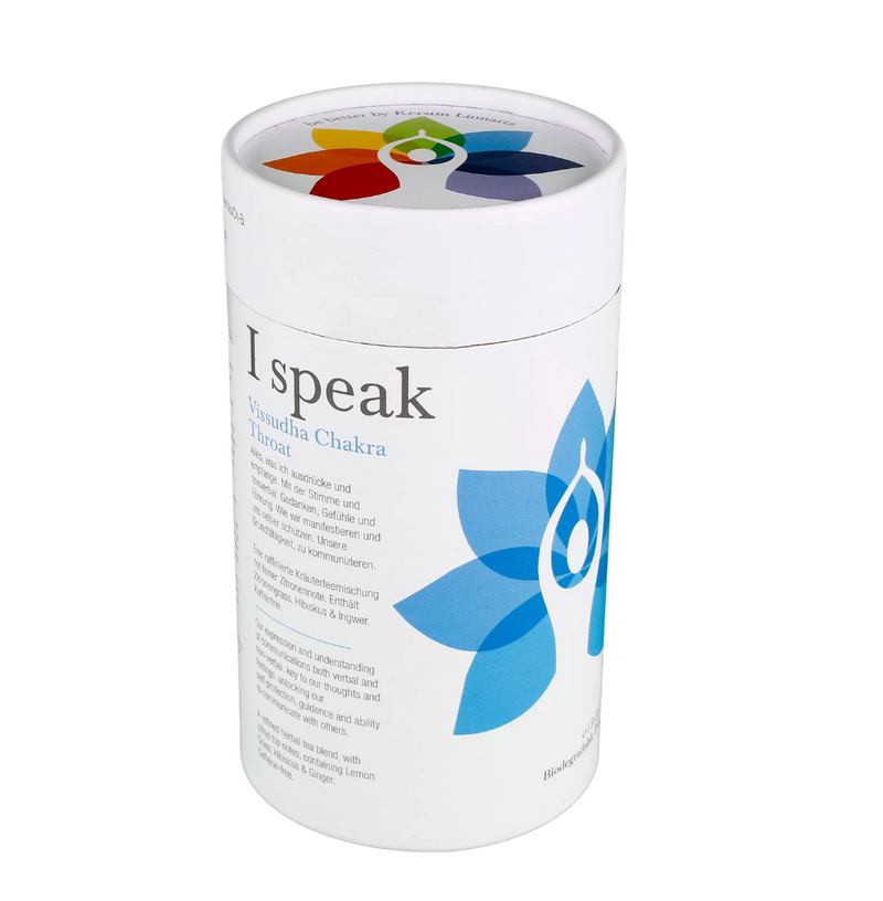 I Speak- Throat Chakra Organic Pyramid Teabags