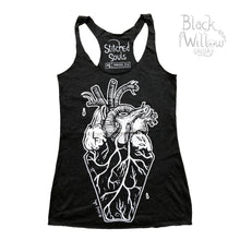 Load image into Gallery viewer, Coffin Heart Tank Top