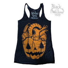 Load image into Gallery viewer, Pumpkin Heart Tank Top