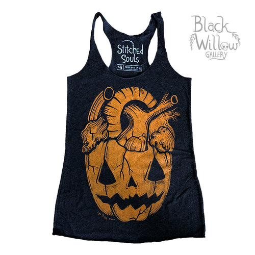 Pumpkin Heart Tank Top