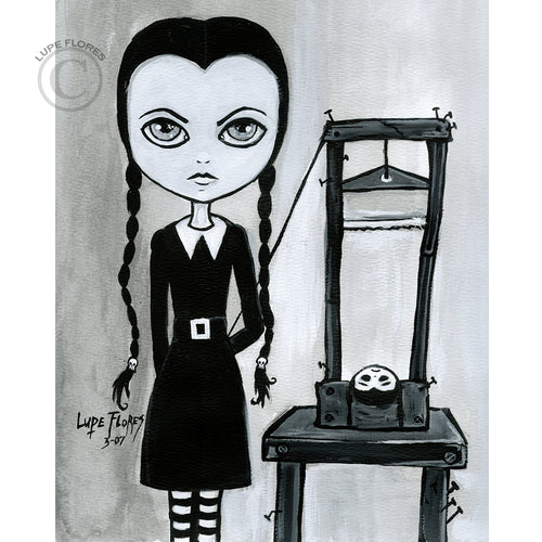 Wednesday Addams Guillotine 8