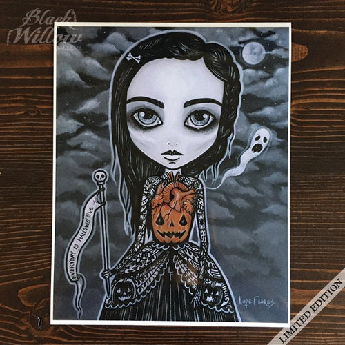 Pumpkin Queen Art Print Limited Edition
