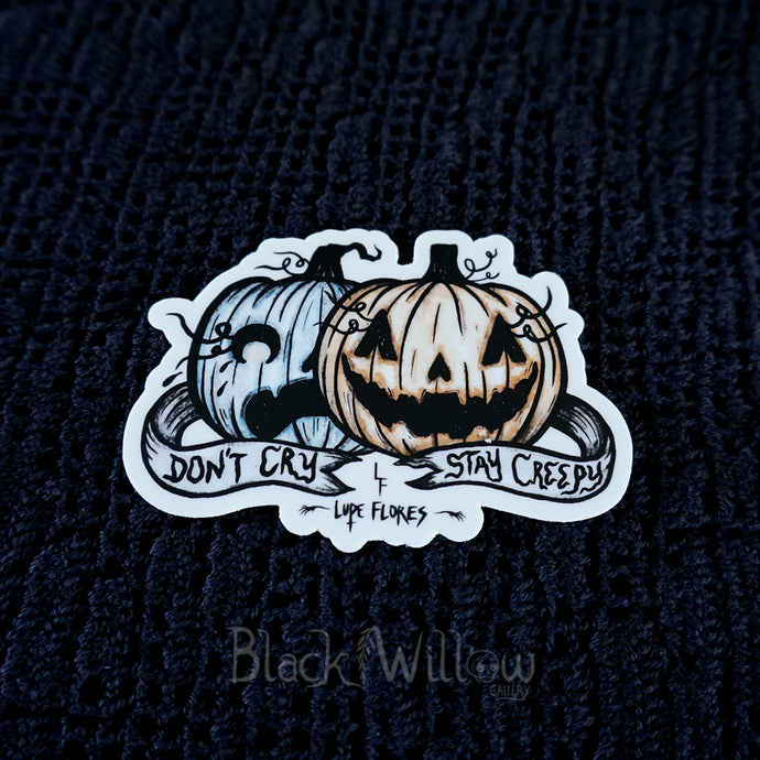 Halloween Blues Vinyl Sticker