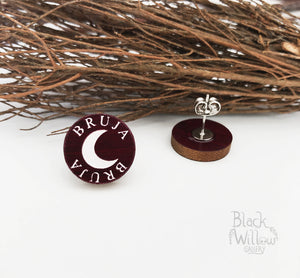 Bruja Wooden Earrings