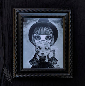 "Moon Witch 8"" x 10"" Art Print"