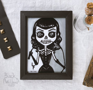 "Bettie 5"" x 7"" Art Print"