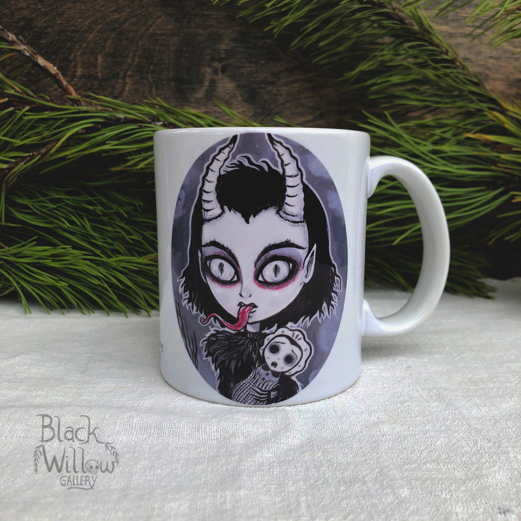 Krampus Ceramic Mug