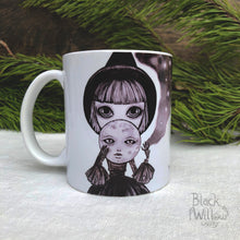 Load image into Gallery viewer, Moon Witch Ceramic Mug