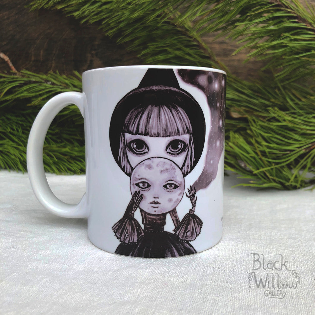 Moon Witch Ceramic Mug