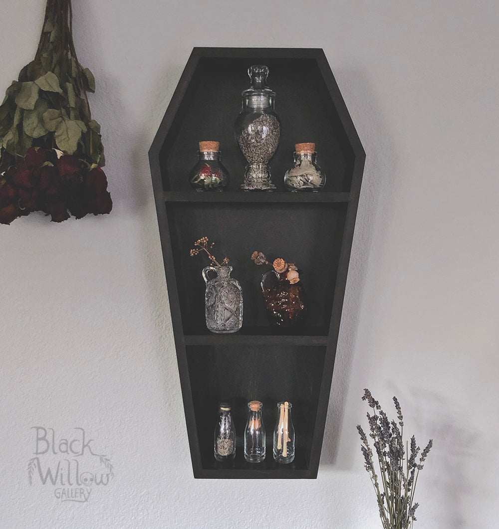 COFFIN Shelf  Wall Hanging