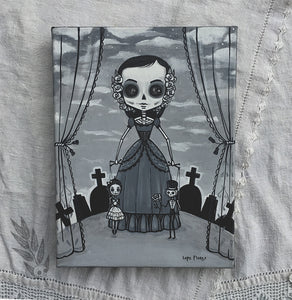 "Natalia the Puppeteer 8""x 10"" Art Print"
