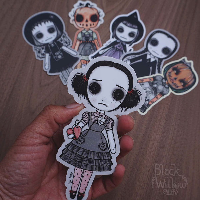 Art Doll Vinyl Stickers