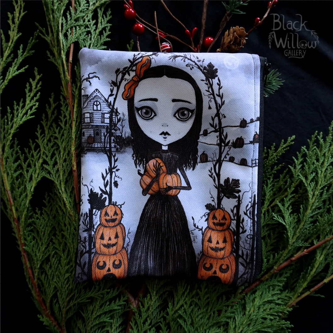 The Pumpkins Grim Zipper Bag