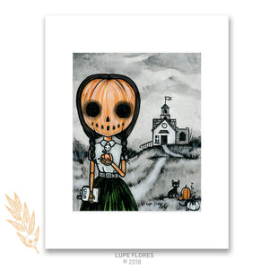 Salem School of Witchcraft Art Print