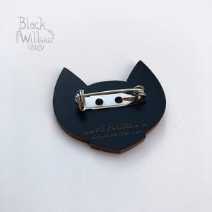 Mad Bat Wooden Pin