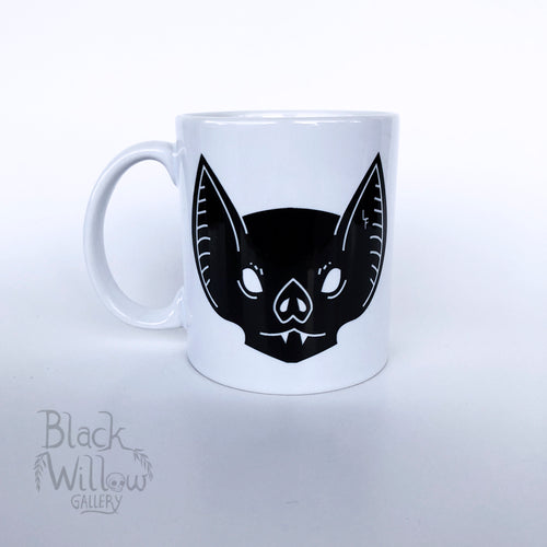 Mad Bat Ceramic Mug