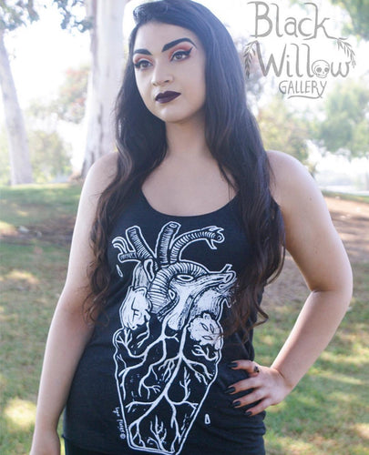 Coffin Heart Tank Top