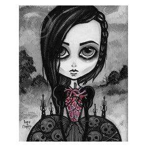 My Coffin Heart Art Print