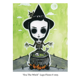 "Eva The Witch  8""x 10"" Art Print"
