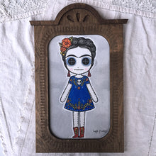 Load image into Gallery viewer, Frida Doll Face Painting by Lupe Flores