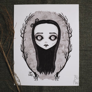 "Daughter of the Moon 8""x 10"" Art Print"