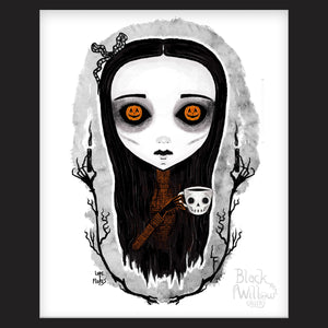 "Spirit of Halloween 8""x 10"" Art Print"