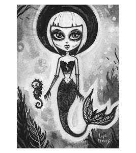 "Sea Witch 5"" x 7"" Art Print"