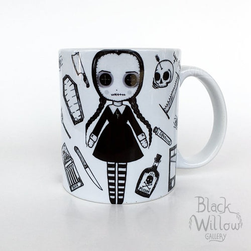 Wednesday Addams Ceramic Mug