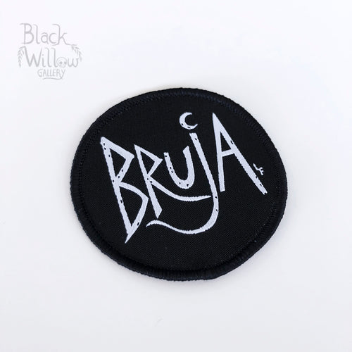 Bruja Woven Patch