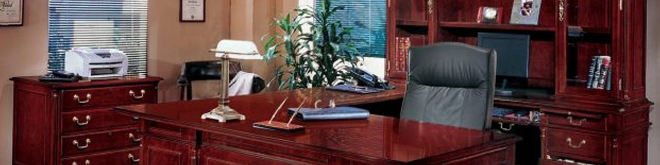 DMI Office Furniture Works Keswick Series | solid wood office furniture sets, wood office furniture sets, executive desk and credenza set