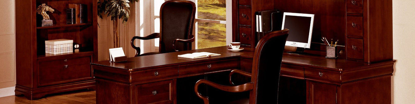 DMI Office Furniture Works Rue De Lyon Series | commercial grade office furniture, solid wood office furniture, upscale wooden office furniture