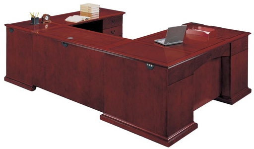 Executive U Desk | Del Mar Collection