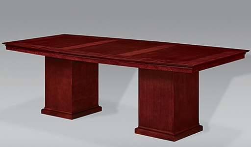 8-Ft Boat Shaped Conference Table | Del Mar Collection