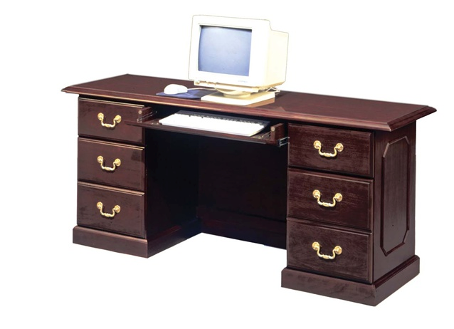 Executive Kneehole Credenza | Governors Collection