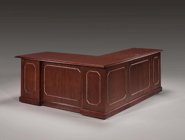 "L Desk 66""W x 72""D 