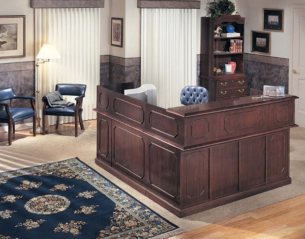 Reception L Desk | Governors Collection