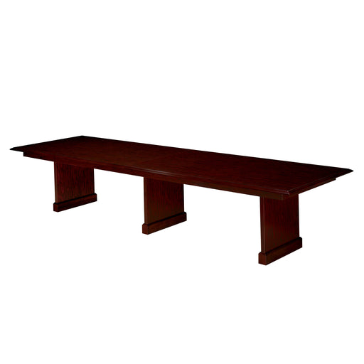 12' Rectangular Conference Table with Slab Bases | Governors Collection