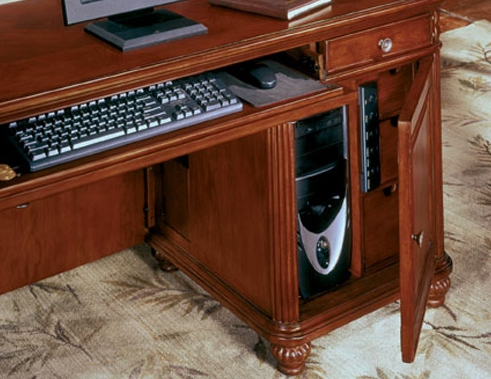 Computer Credenza | Antigua Collection