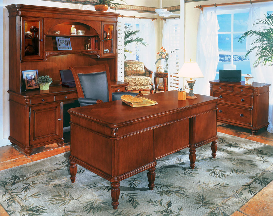 Antigua Suite - Desk, Credenza, Hutch, Lateral | Antigua Collection