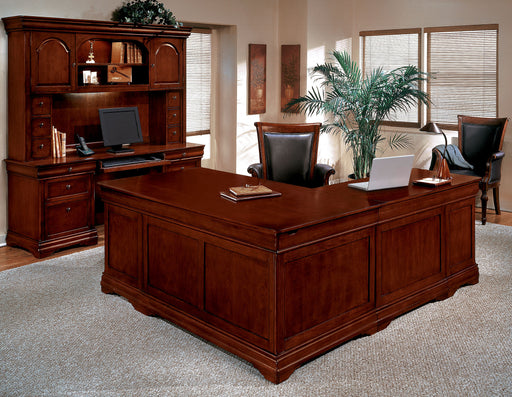 Suite - L Desk, Credenza, Hutch | Rue De Lyon Collection