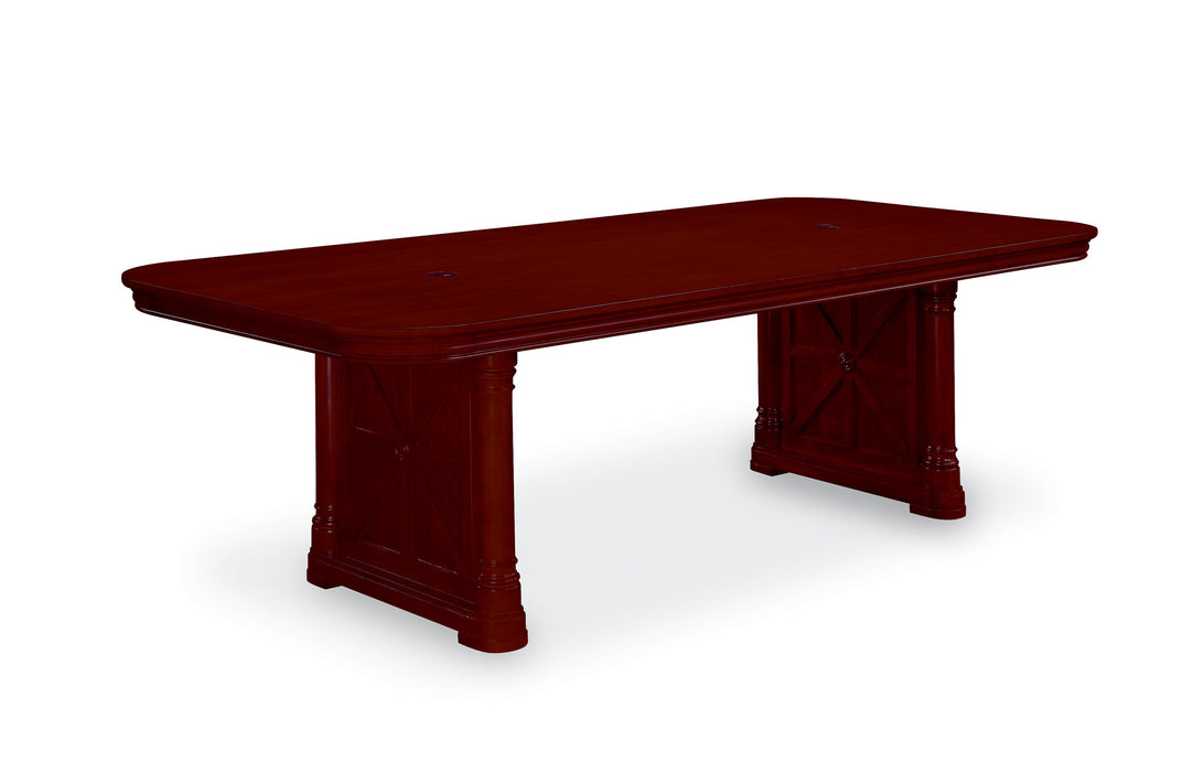 Rectangular Conference Table - 8 Ft | Rue De Lyon Collection