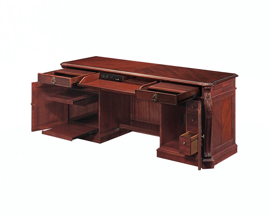 Executive Computer Credenza | Balmoor Collection