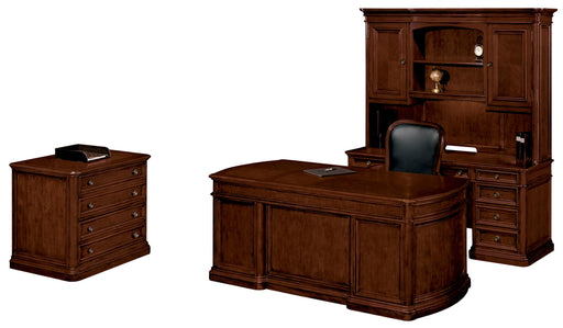Suite - Desk, Credenza, Hutch, Lateral File | Walden Collection
