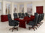 14-Ft Boat Shaped Expandable Conference Table | Keswick Collection