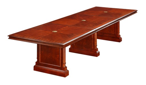 12-Ft Rectangular Expandable Conference Table | Keswick Collection