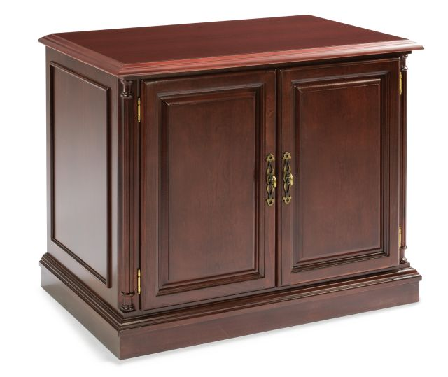 WDN EXEC 2-DOOR CABINET - Keswick Series | DMI Office Furniture Works - home office desk set, full office furniture set, commercial office furniture sales, commerical office desk furniture